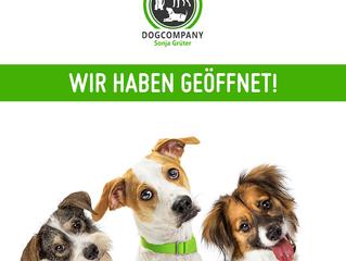 WIR HABEN AUF // Doghouse und Hundeschule