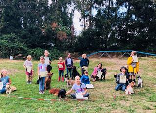 Impressionen Hund-Kind-Kurs Sommer 2018 - Abschlußtag