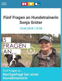 5 Fragen - RTL - Sitz Platz Steh