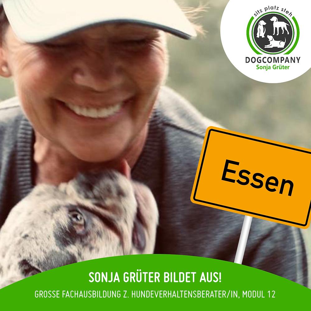 Sonja Grüter bildet aus.