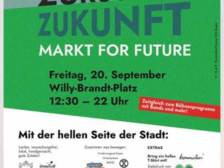 Fridays for Forture - Klimastreiktag in Essen - Wir sind dabei!