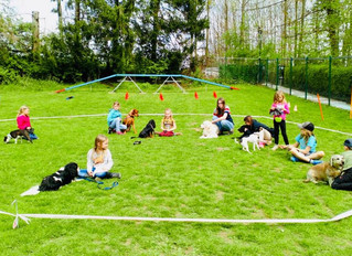 Impressionen vom Hund-Kind-Kurs Ostern 2019