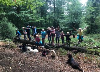 Start unseres Hund-Kind-Kurses Sommer 2018