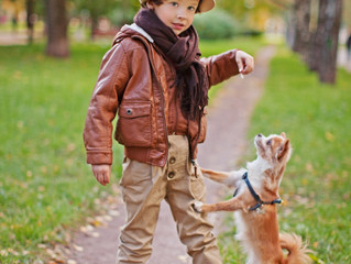 !!! AUSGEBUCHT !!!                                        Hund-Kind-Kurs Ostern 2019