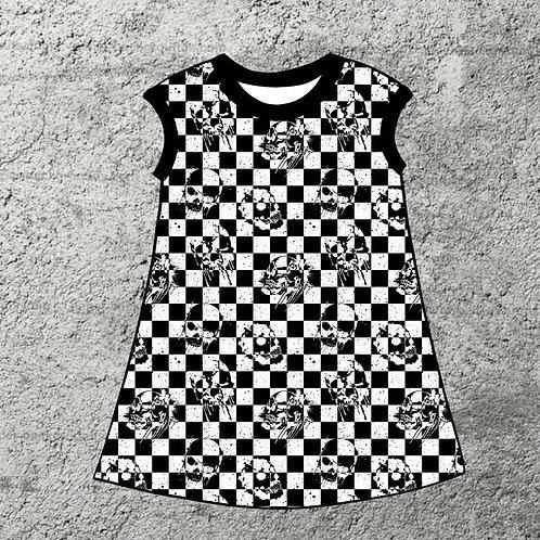 CHECKERSKULL DRESS