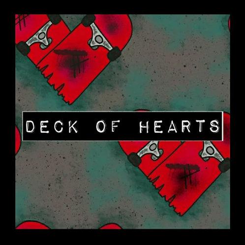 DECK OF HEARTS LEG WARMERS