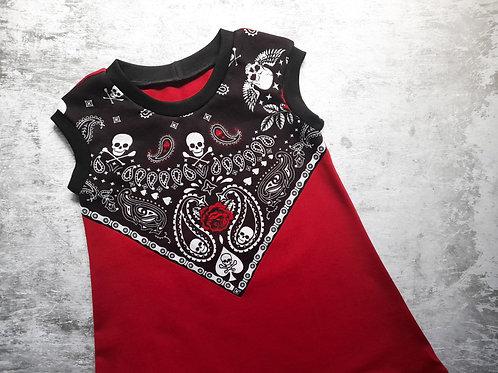 SKULLS & ROSES B-DRESS
