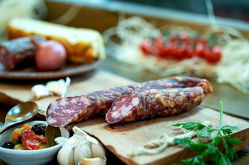 Pork sausage 40% Fat dried