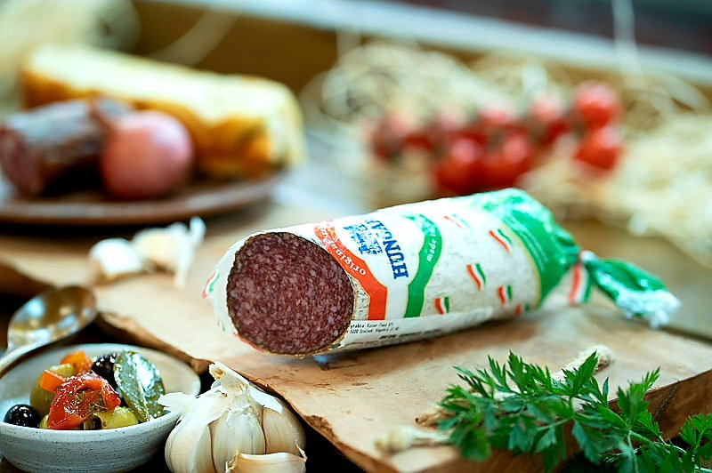 Pork salami Authentic Hungarian with natural mould
