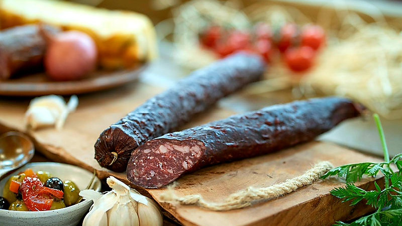 Beef salami extra dried