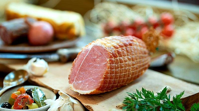 Pork fillet cured