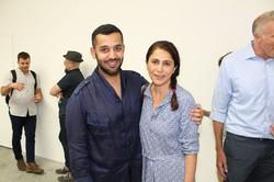 Mohamed Al-Thani and Maryam Mortaz