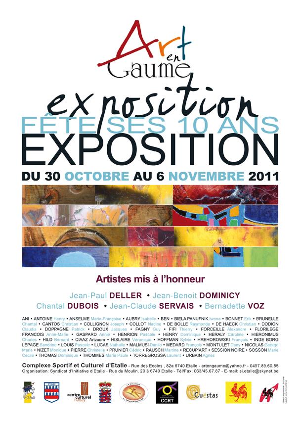 Art en Gaume 2011 poster