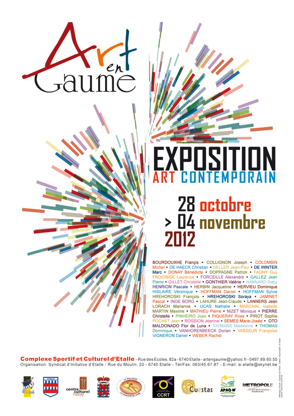 Art en Gaume 2012 poster