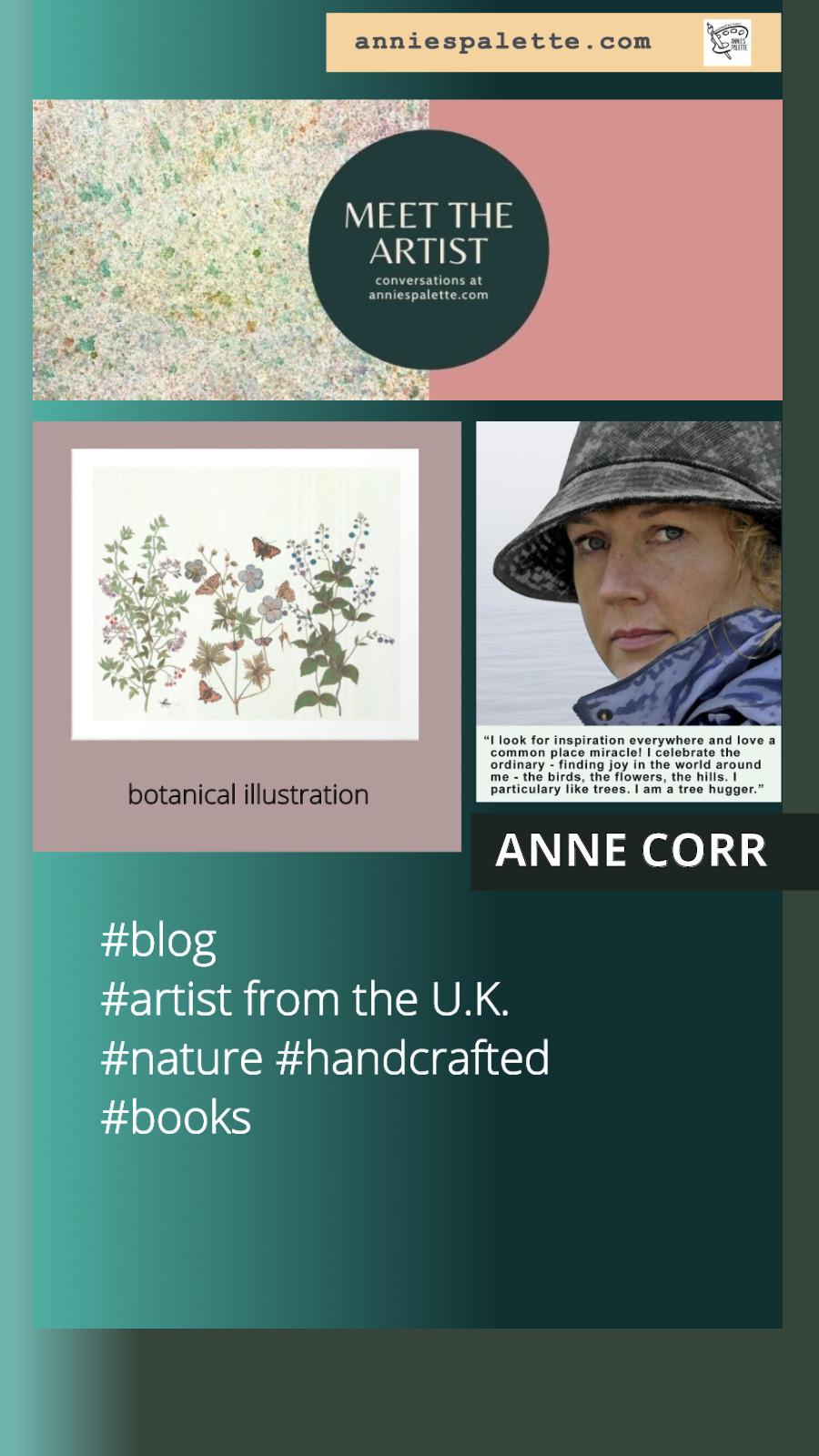 United Kingdom artist Anne Corr