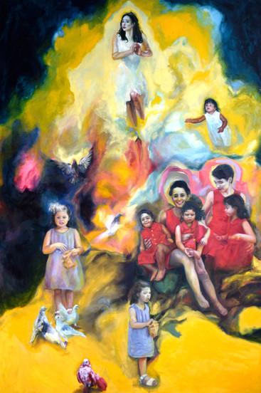 A child's madonna