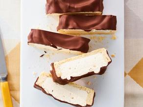 Barre chocolatée à la guimauve à l'érable