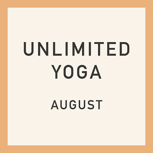 Unlimited Online Classes in August