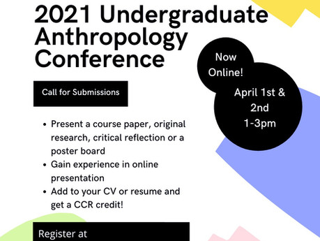 Anthropological Minds In Turbulent Times: A Virtual Conference  - A Call for Presenters!