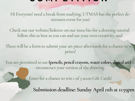 UTMAS ART COMPETITION