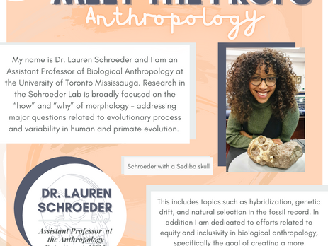UTM Anthropology Faculty: Meet the Prof!