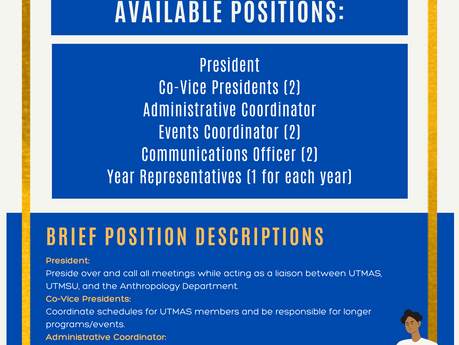 2020-2021 UTMAS  Elections
