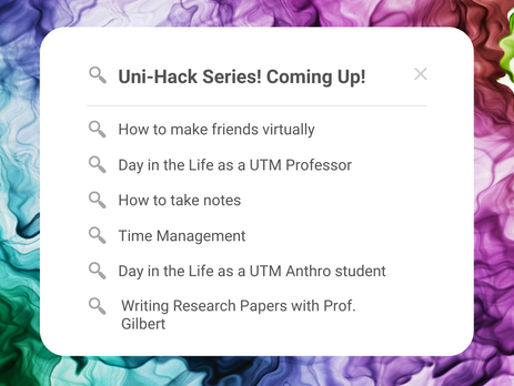 Uni-Hacks, and Social Media Takeovers from Profs to Students!
