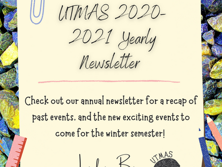 UTMAS puts the News in Newsletter!