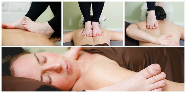Ashiatsu is a massage that we can provide the perfect pressure for both men and woman.  ideally designed for a man.
