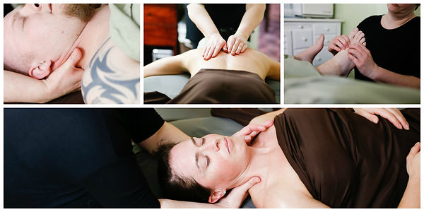 Deep tissue massage is not alot of pressure it is more about working the layers of the muscles.  This is hands on work.