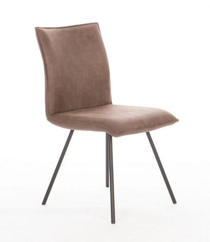 Design stoel micro leder
