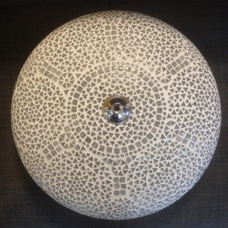 Plafonniere mozaiek glas