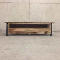 Vision tv kast noten hout