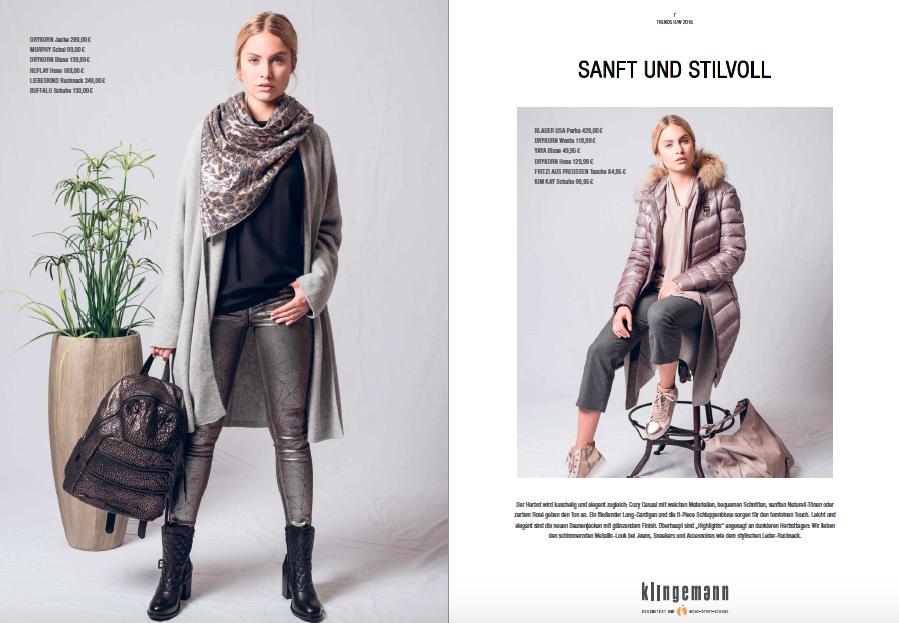 Klingemann Kundenmagazine
