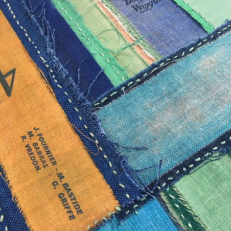 Loose Ends Patchwork #3 (detail)