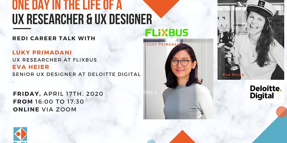 Sharing session gratis tentang karir UX dari ReDi School
