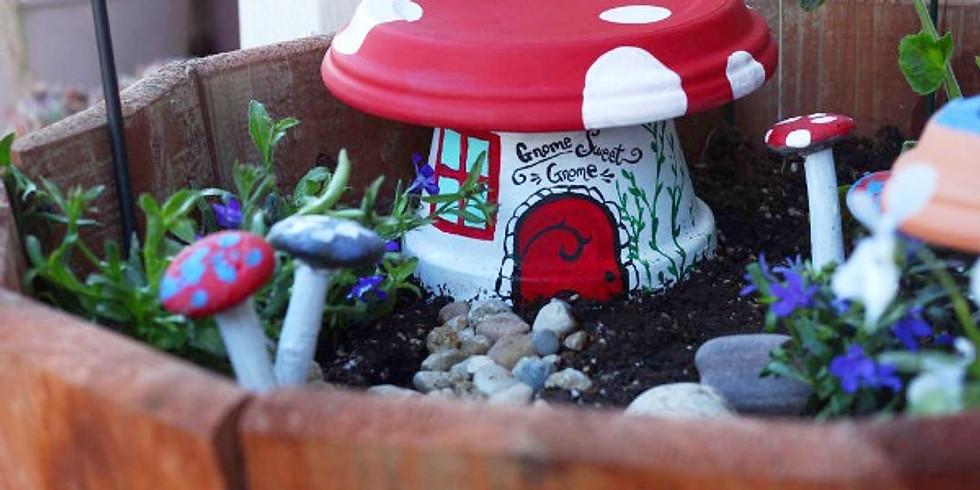 Frog Alley Brewing is Hosting ~Garden Art &Mini Dish Gardens