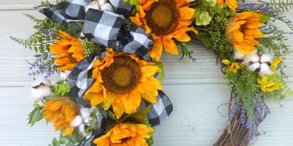 Wreath Making At Altamont Vineyards