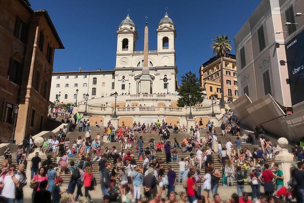 スペイン広場 Roma ローマ