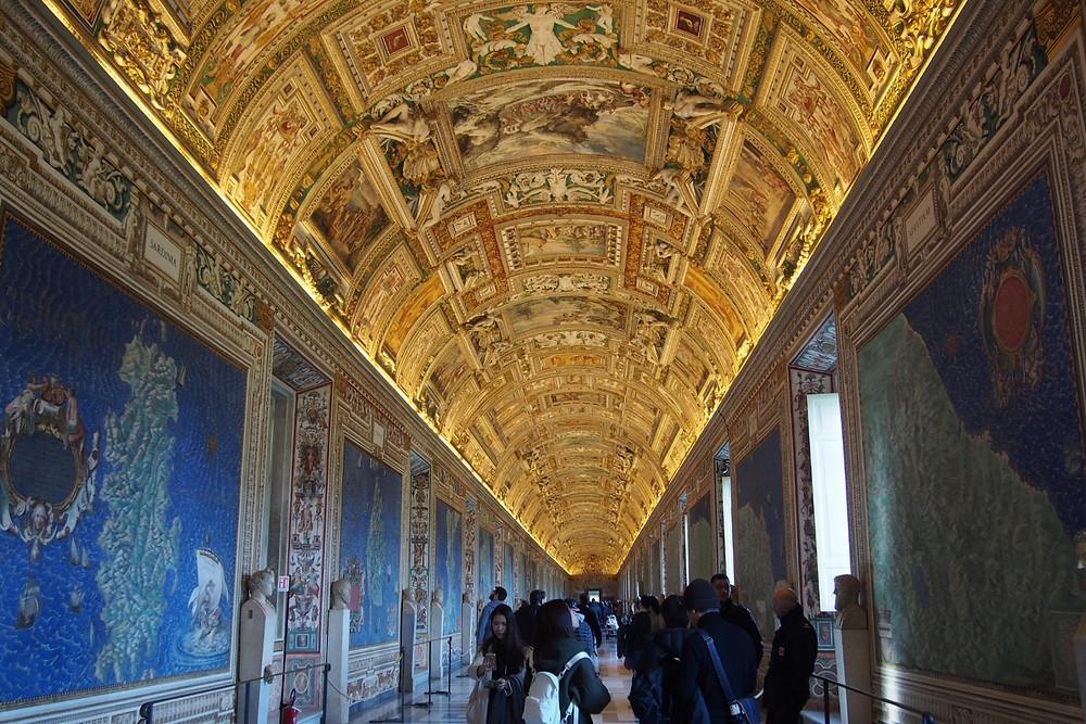 ヴァチカン美術館・地図の間 Roma ローマ
