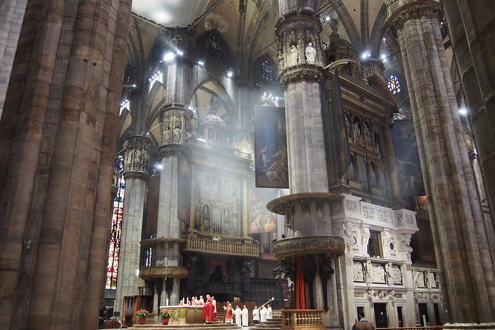 大聖堂内部|Duomo di Milano ミラノ ドゥオーモ
