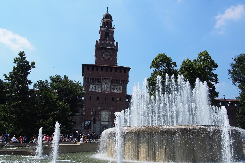 スフォルツェスコ城|Milano ミラノ