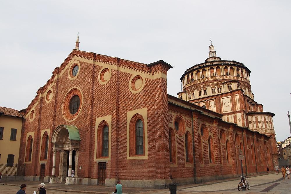 サンタ・マリア・デッレ・グラツィエ教会|Milano ミラノ
