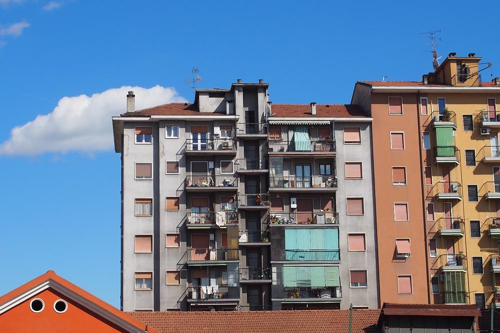 住宅街|Milano ミラノ