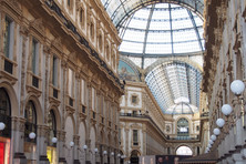 Galleria Vittorio Emanuele II ヴィットーリオ・エマヌエーレⅡのガッレリア
