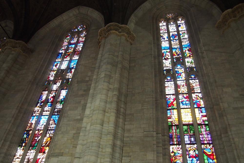 ステンドグラス|Duomo di Milano ミラノ ドゥオーモ