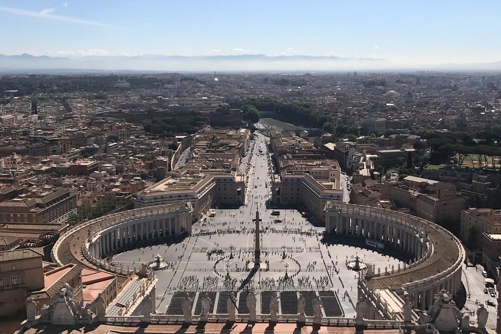 クーポラからの景色 Roma ローマ