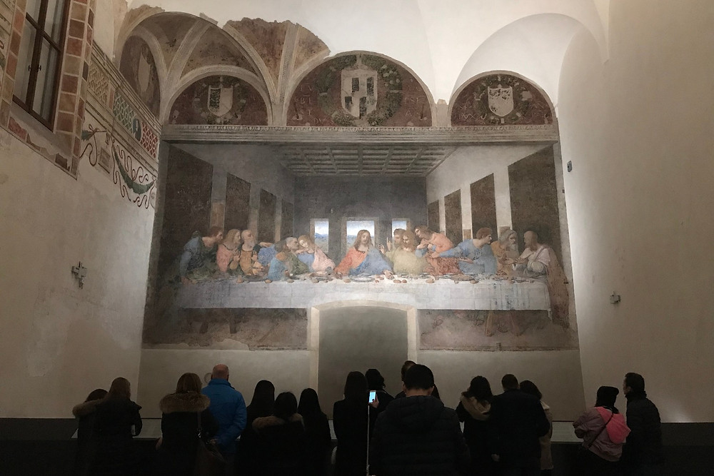 Guida del Cenacolo Vinciano 『最後の晩餐』の観光案内