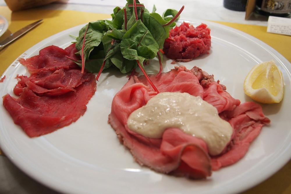 肉前菜の盛り合わせ Torino トリノ
