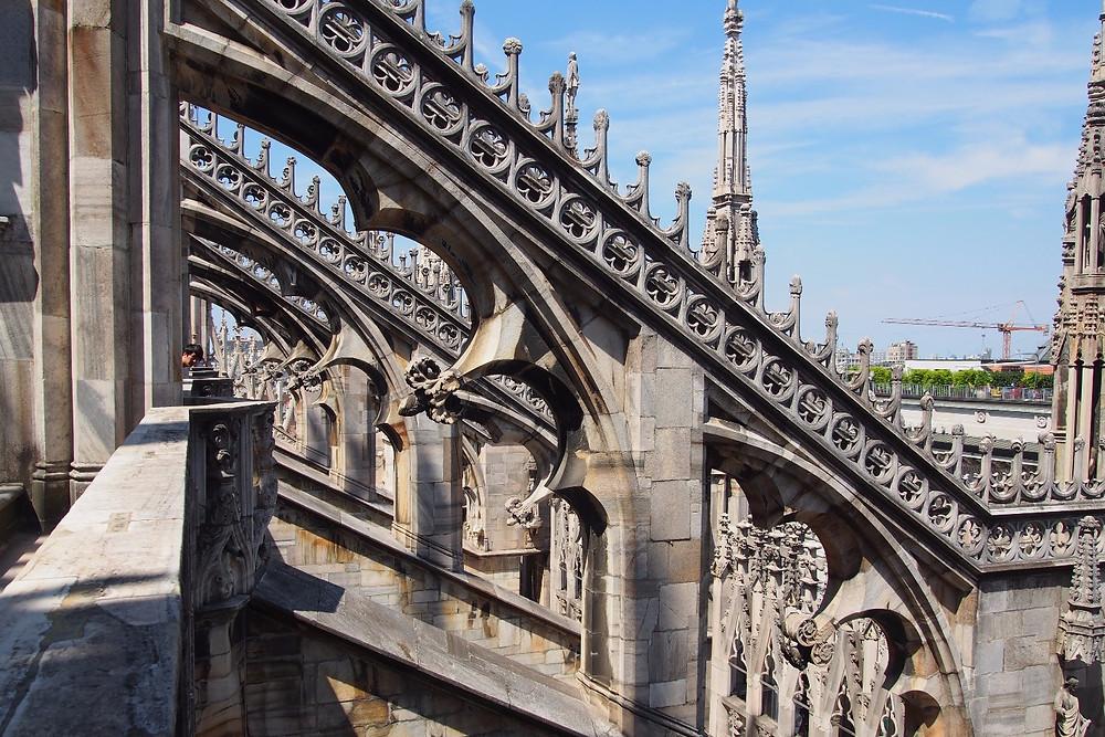 屋上テラス|Duomo di Milano ミラノ ドゥオーモ